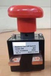 DC Battery Cut Off Emergency Switch 250A 96V
