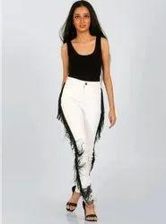 Skinny High Rise Women Slim Fit Denim Jeans, Waist Size: 28