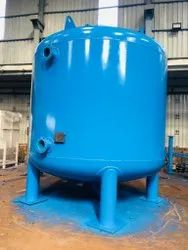 Water Treatment Sand Filters, For Industrial, 800-1000 mm