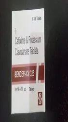 cefixime & Potassium clavulanate Tablet