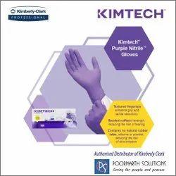 KIMTECH Purple Nitrile Exam Gloves, ( 55081-Small, 55082-Medium, 55083-Large )