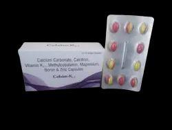 Celsim-K2-7 Calcium Carbonate , Calcitriol, Vitamin K2-7 Methycobalamin , Magnesium 3x10