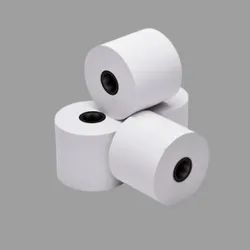 White Plain Thermal Paper Roll, For Price Tags, GSM: 80 GSM