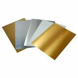 Metal Sheet Mirror- Gold/Silver