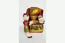 Assorted Colours Devi Decoration Alankaram Stand 11 Inches