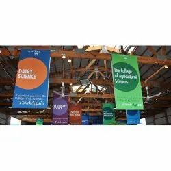 Drop Down Banner Printing Service, in On Site