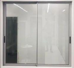 Modern Aluminium A3000 Slim Sliding Windows, For Office