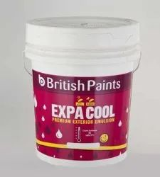 British Paints Smooth and Matt 20 Litre Exterior Weather Proof Paint, Brush