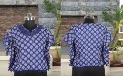 Regular Wear Printed Cotton Tops / Kurtis