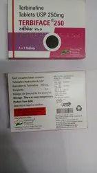 Terbinafine Tablets USP 250mg