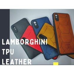 Lamborghini TPU Leather Back Cover