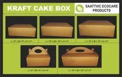 Kraft Paper Cake Boxes