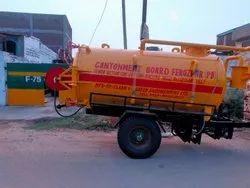 Trailer Mounted Sewer Suction Cum Jetting Machine
