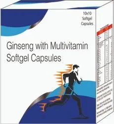GINSENG WITH MULTIVITAMIN SOFTGEL CAPSULES