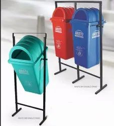 Waste bin with Dome Lid With Stand