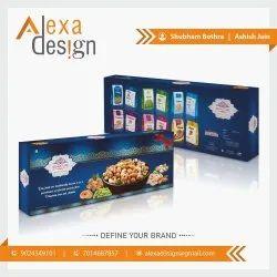 FBB Board Printed Mix Dry Fruit Packaging Bag, Storage Capacity: 1 Kg