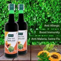 Giloy Tulsi Papaya Juice