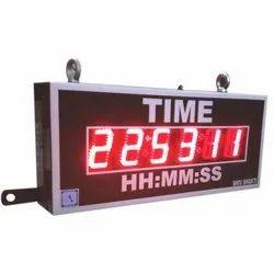 Large GPS Synchronized Clock