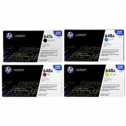 HP 647A 648A SET  CE260A CE261A CE262A CE263A Toner Cartridges