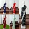 Soft Viscose Net Fabric Saree