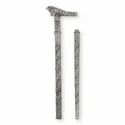 Silver Plated Walking Stick For Corporate Gift
