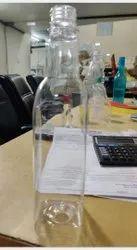 Square Plastic Bottle 500ml Oil