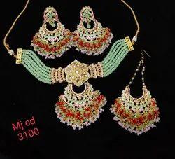Meenakari Choker Necklace