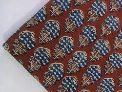 Buti Print Cotton Summer Dressmaking Fabric Natural Color Fabric, Gsm: 50-100