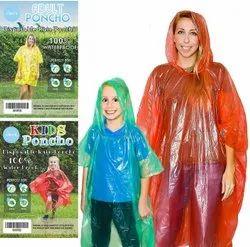 Rain Card Pocket Raincoat