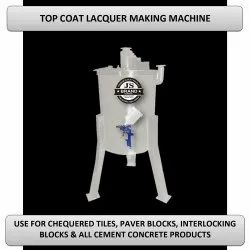 Top Coat Lacquer Making Machine
