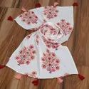 cotton hand block printed Ladies Scarves
