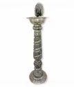 Metal Silver Plated Samai / Diya For Pooja Purpose