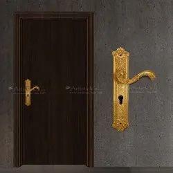 Gold Plating Door Handles