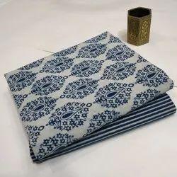 Ladies Cotton Printed Dress Material