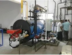 Oil & Gas Fired 500 Kg/hr Coil Type Steam Boiler IBR Approved