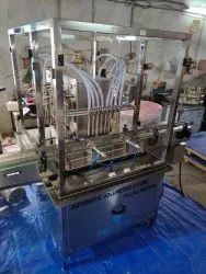Automatic Mustard Oil Filling And Capping Machine