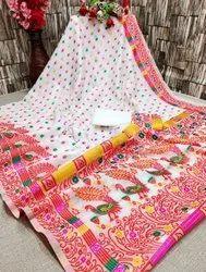 Self Weaving Saree