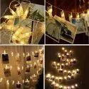 16 LED Photo Clip Lights
