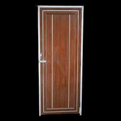 Hinged Brown PVC Bathroom Door, Interior