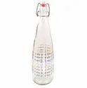 Jai Mata Di Printed Glass Water Bottle, Capacity: 1000 Ml