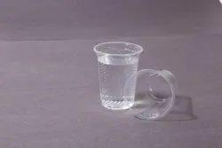 Plain Round Plastic Disposable Glass 300ml, Capacity: 100ml