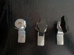 Electronic Nylon Panel Knob Lock, Chrome