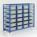 MS Fabricated Storage Rack