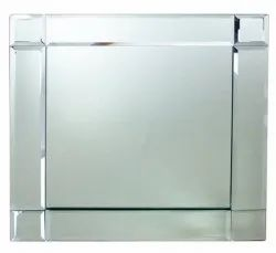Transparent Square Toughened Glass, For Office