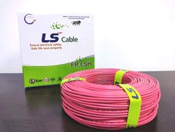 LS Cable House Wire 1.0 SQMM - Made In India With Korean Technology, 90m