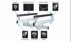 Aluminium Railings System, For Industry, Wall