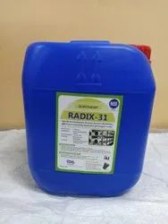 Radix 31 RO Antiscalant Dosing Chemical Can 5 Kg Capacity Rs.1298 including GST For Full Can Pack