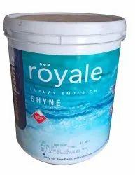 Asian Paints 4 Litre Royale Luxury Emulsion Shyne Paint, Bucket