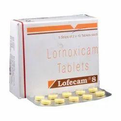 8 Mg Lornoxicam Tablets