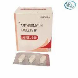 Azithromycin 500 Mg Tablets- AZIDEL 500